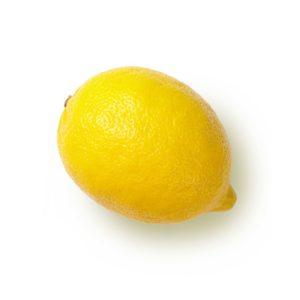 Zitrone lipure ätherische Öle